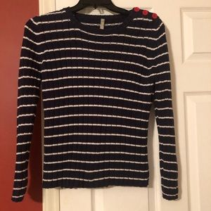 Hannah Anderson Striped Sweater